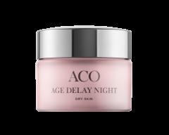 ACO FACE AGE DELAY NIGHT CREAM DRY SKIN 50 ML