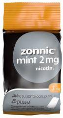 ZONNIC MINT 2 mg jauhe suuonteloon, pussi 20 kpl