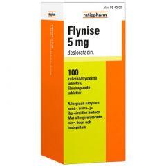 FLYNISE 5 mg tabl, kalvopääll 100 fol