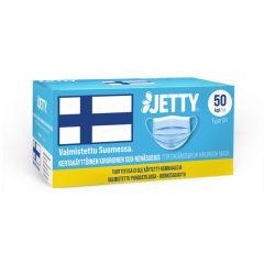 Jetty kotimainen kasvomaski TYPE IIR 50 kpl