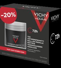 VICHY HOMME ANTIP. 72H ROLL-ON 2X50ML